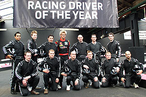 Tom Chilton and racers