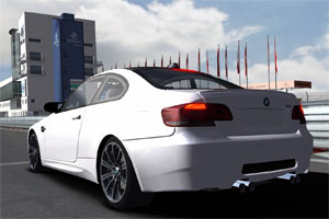 BMW M3 back