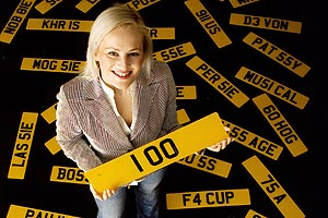 Private number plates can sell for six-figure sums