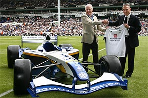 Tottenham Hotspur's Superleague Formula car
