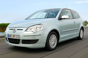The VW Polo BlueMotion is tax-free