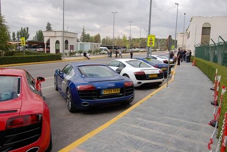 Audi R8 V10 carpark
