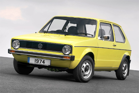 Auto Trader's Adrian Hearn owned a Mk1 VW Golf as his first car