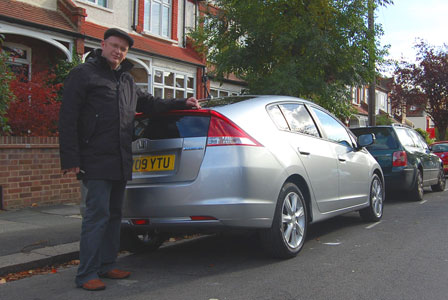 Adrian and his Honda Insight