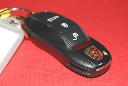 Porsche Panamera key