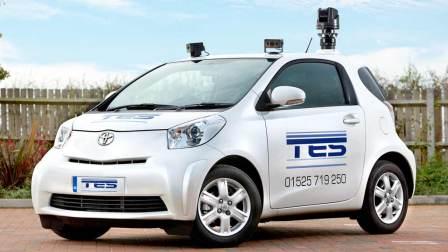 Toyota IQ surveillance car