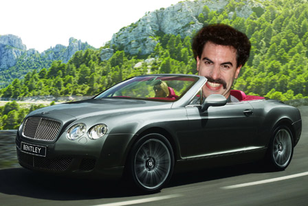 Borat's Bentley