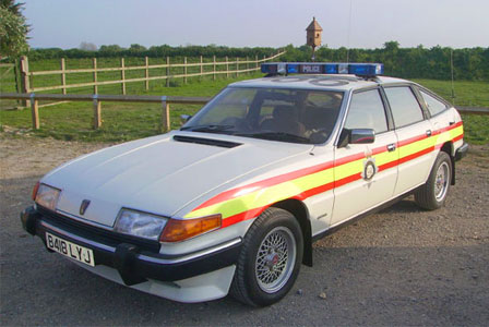Rover Sd1 Racing. Rover SD1 Police Car